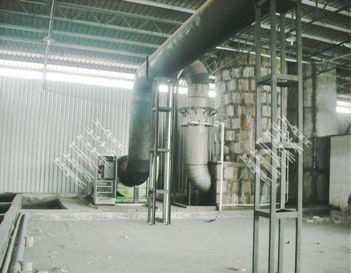 熔铸炉脱硫处理
